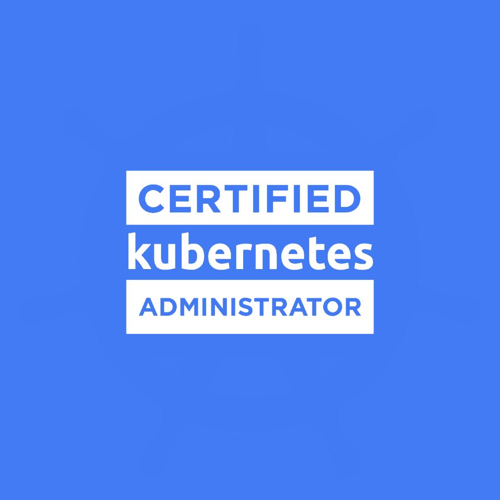 YPSI est Kubernetes Certified Administrator